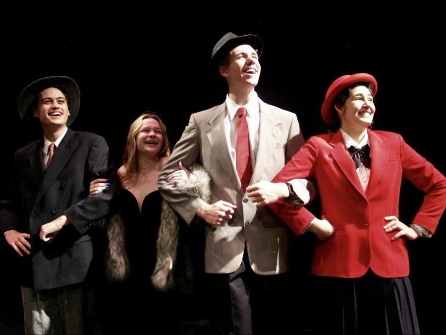 From Left to Right: Noah Omelchuk, Nya Elder, Gabe Veltri, Rosalie Ortega