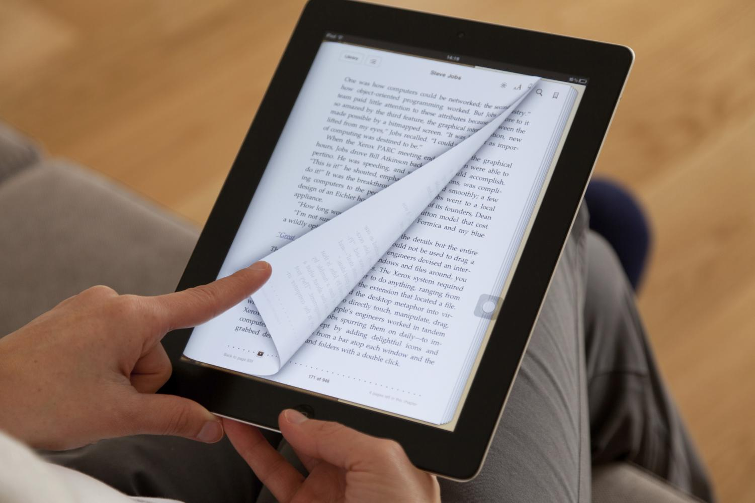 eBooks have been around since the early 2000s and are an easy alternative to having to carry around heavy paper books.