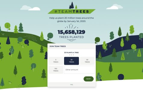 #TEAMTREES race for 20,000,000