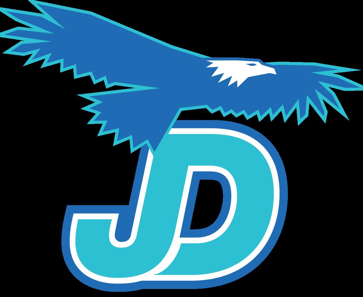 The Juan Diego Catholic High School logo.