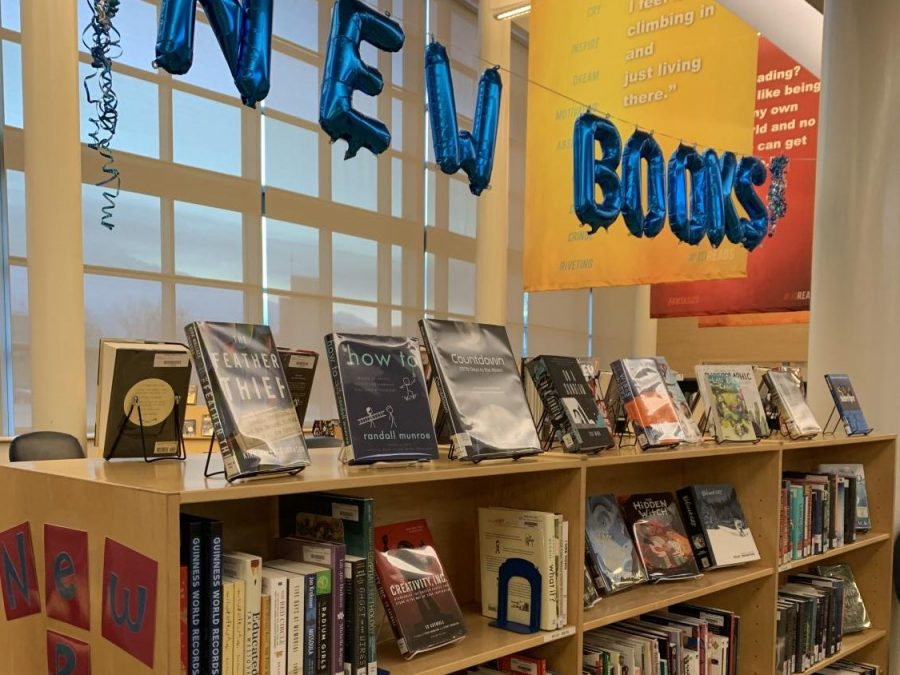Main display created by the three library faculty