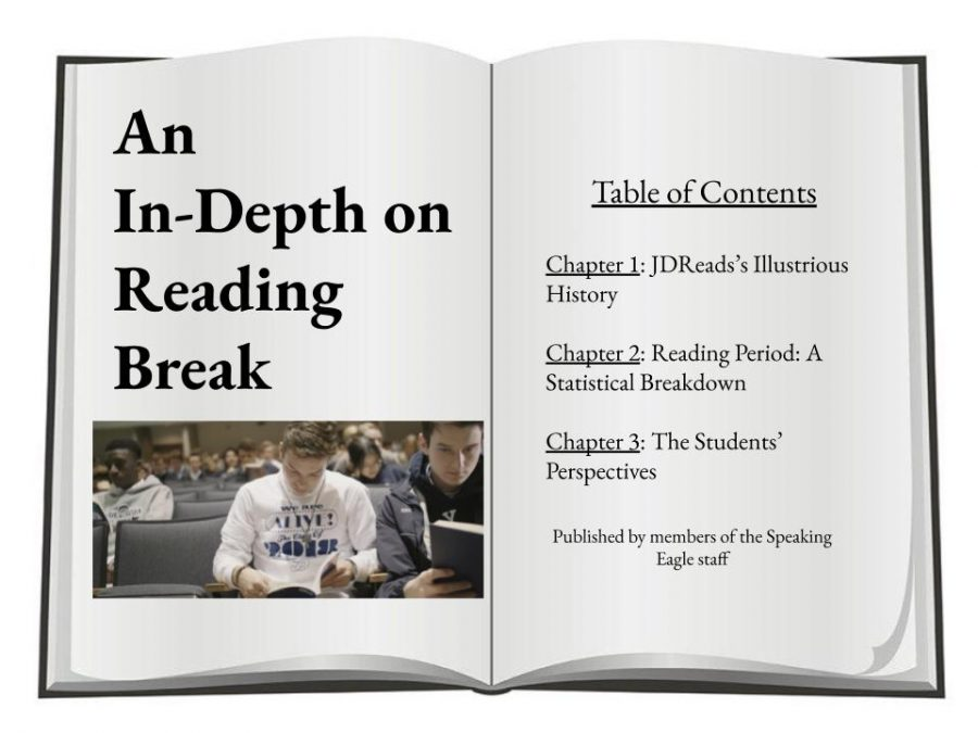 Juan Diego sets itself apart from other high schools through it's alternative to home room period, the daily reading program JDReads.