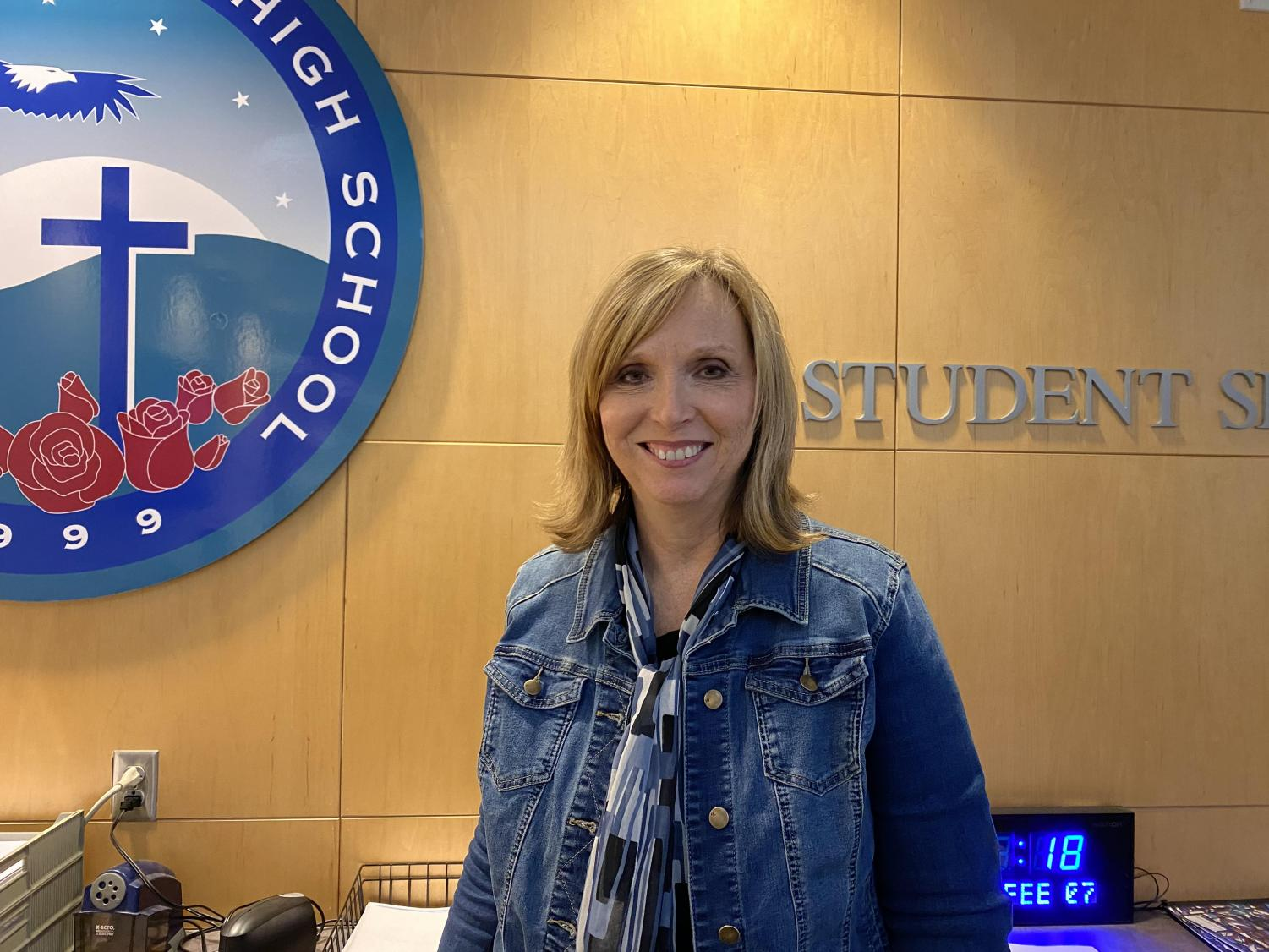 Mrs. Butler, more than just a substitute and mother here at Juan Diego.