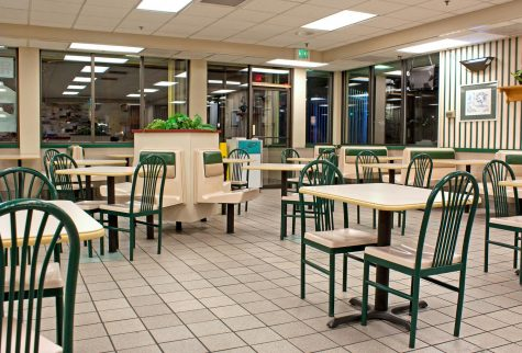 An empty restaurant, a scene which has become a common occurrence this last month.