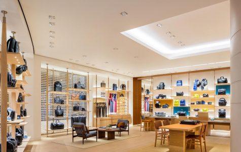 Louis Vuitton store at City Creek Mall in Utah.