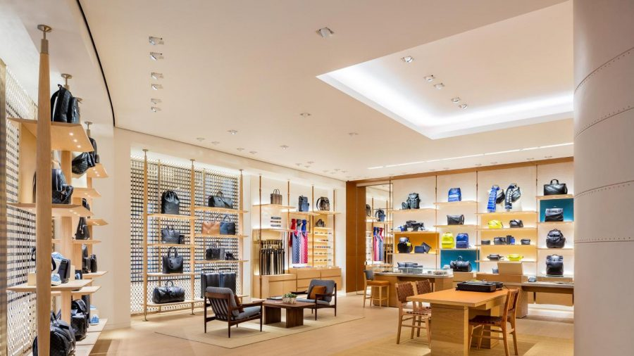 Louis+Vuitton+store+at+City+Creek+Mall+in+Utah.+