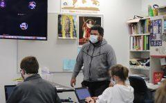 Tana Vea teaching his Theology class