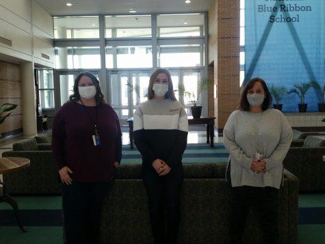 Left to Right: Kyra Hester,  Kamee Jordan, Kelly Redican.