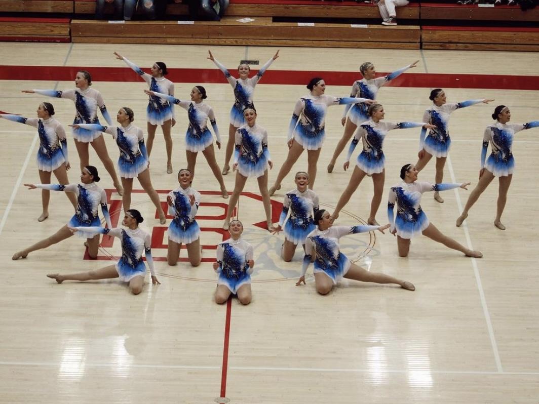 Silverline Showcasing their Dance Routine at Bountiful High School