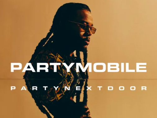 PARTYNEXTDOORs Partymobile album cover, his most recent album which released March 27, 2020.